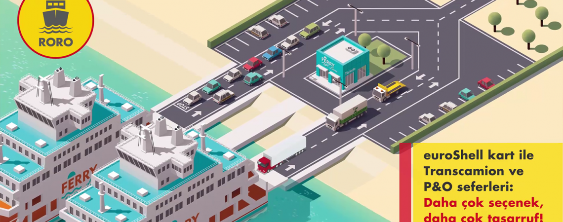 EuroShell Motion graphics animation
